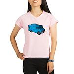 Food Truck: Basic (Blue) Performance Dry T-Shirt