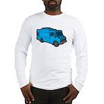 Food Truck: Basic (Blue) Long Sleeve T-Shirt