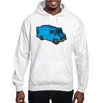 Food Truck: Basic (Blue) Hooded Sweatshirt