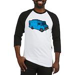 Food Truck: Basic (Blue) Baseball Jersey