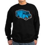 Food Truck: Basic (Blue) Sweatshirt (dark)