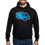 Food Truck: Basic (Blue) Hoodie (dark)
