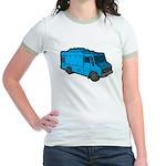 Food Truck: Basic (Blue) Jr. Ringer T-Shirt
