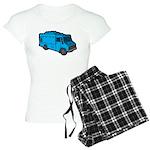 Food Truck: Basic (Blue) Women's Light Pajamas