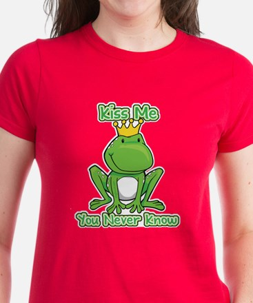 You Never Know Frog Women's Dark T-Shirt