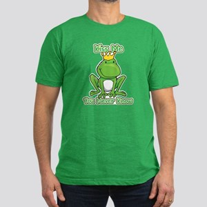You Never Know Frog Men's Fitted T-Shirt (dark)