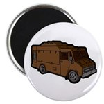 Food Truck: Basic (Brown) Magnet