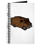 Food Truck: Basic (Brown) Journal