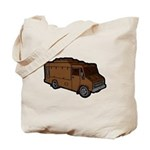 Food Truck: Basic (Brown) Tote Bag