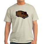Food Truck: Basic (Brown) Light T-Shirt