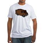 Food Truck: Basic (Brown) Fitted T-Shirt