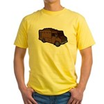 Food Truck: Basic (Brown) Yellow T-Shirt