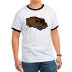 Food Truck: Basic (Brown) Ringer T