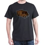 Food Truck: Basic (Brown) Dark T-Shirt