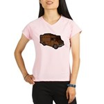 Food Truck: Basic (Brown) Performance Dry T-Shirt