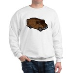 Food Truck: Basic (Brown) Sweatshirt