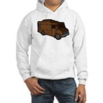 Food Truck: Basic (Brown) Hooded Sweatshirt