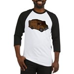 Food Truck: Basic (Brown) Baseball Jersey
