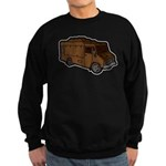 Food Truck: Basic (Brown) Sweatshirt (dark)