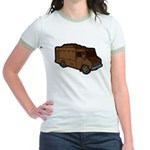 Food Truck: Basic (Brown) Jr. Ringer T-Shirt