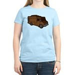 Food Truck: Basic (Brown) Women's Light T-Shirt