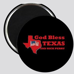 God Bless Texas & Rick Perry Magnet