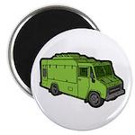 Food Truck: Basic (Green) Magnet