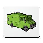 Food Truck: Basic (Green) Mousepad