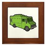 Food Truck: Basic (Green) Framed Tile