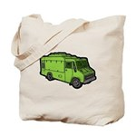 Food Truck: Basic (Green) Tote Bag