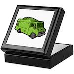 Food Truck: Basic (Green) Keepsake Box