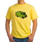 Food Truck: Basic (Green) Yellow T-Shirt