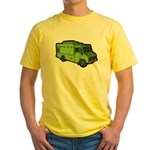 Food Truck: Basic (Green) Yellow T-Shirt