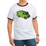 Food Truck: Basic (Green) Ringer T