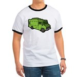 Food Truck: Basic (Green) Ringer T