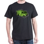 Food Truck: Basic (Green) Dark T-Shirt