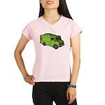 Food Truck: Basic (Green) Performance Dry T-Shirt