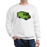Food Truck: Basic (Green) Sweatshirt
