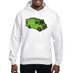 Food Truck: Basic (Green) Hooded Sweatshirt