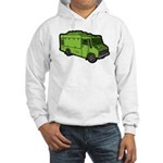 Food Truck: Basic (Green) Hooded Sweatshirt