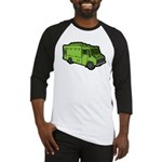 Food Truck: Basic (Green) Baseball Jersey
