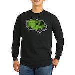Food Truck: Basic (Green) Long Sleeve Dark T-Shirt