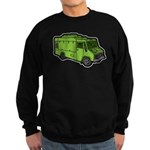 Food Truck: Basic (Green) Sweatshirt (dark)