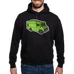 Food Truck: Basic (Green) Hoodie (dark)