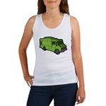 Food Truck: Basic (Green) Women's Tank Top