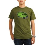 Food Truck: Basic (Green) Organic Men's T-Shirt (d