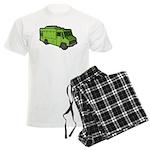 Food Truck: Basic (Green) Men's Light Pajamas