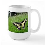 Anise Swallowtail Butterfly Large Mug