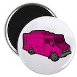 Food Truck: Basic (Pink) Magnet