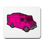 Food Truck: Basic (Pink) Mousepad